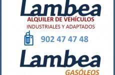 LAMBEA alquiler vehiculos, mudanzas y gasoleo a domicilio