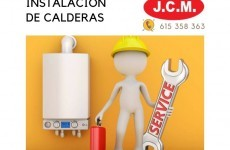 JCM Instalación Calderas