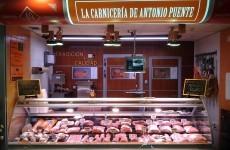 Antonio Puente, carnicería