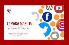 Tamara Maroto Community Manager