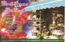 Flor de Romero Arte Floral