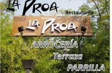 Restaurante Arroceria LA PROA Terraza