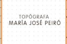 Topógrafa María José Peiró