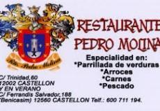 Restaurante Pedro Molina