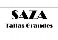 Saza Tallas Grandes