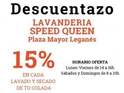 Lavandería Speed Queen (Plaza Mayor Leganés)