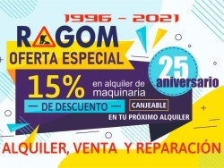 RAGOM ALQUILER DE MAQUINARIA