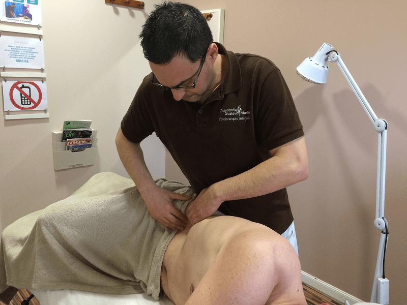 Osteopatía y Fascioterapia Gustavo Martín Madrid