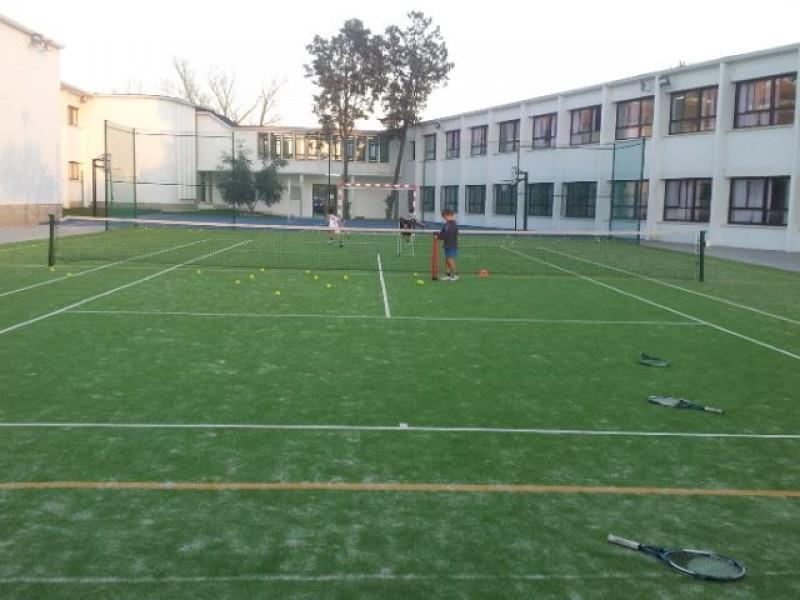 Piscina y Pistas Colegio Highlands Madrid
