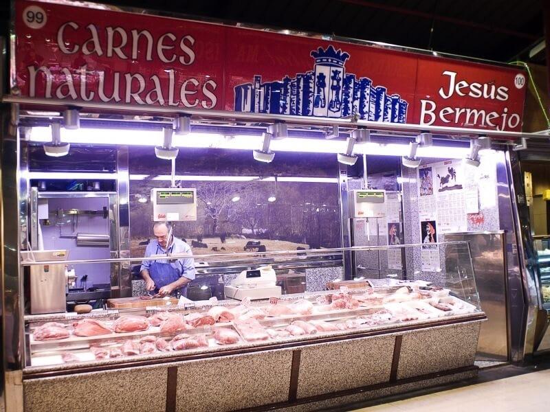 Mercado De La Paz Barrio de Salamanca