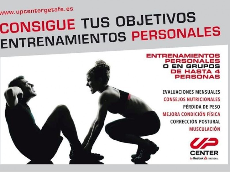 Gimnasio UP Center Reebok Funcional opiniones