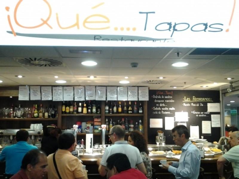 Qué Tapas!, raciones y aperitivos opiniones