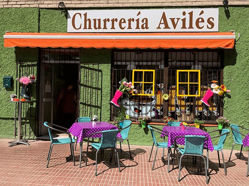 Churrería Avilés Madrid