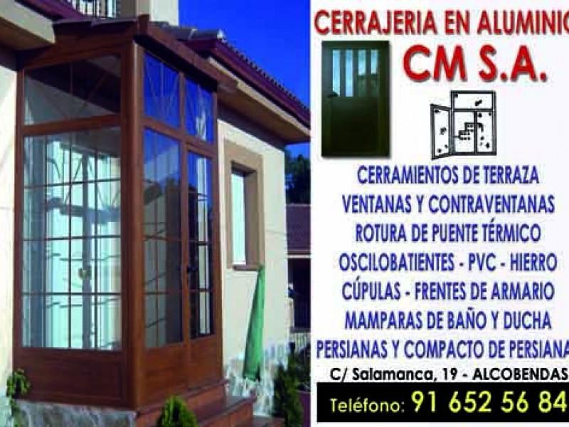 Carpinterías Metálicas C.M.S.A. Alcobendas