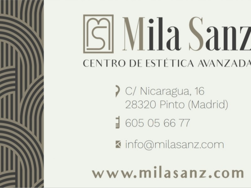Mila Sanz Centro de Estética Avanzada Madrid
